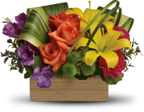 Teleflora\'s Shades Of Brilliance Bouquet